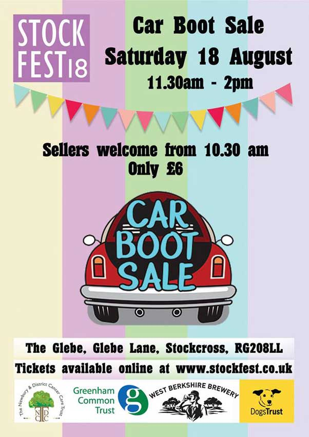 Stockcross Car Boot Sale 2018